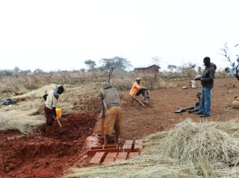 Laying Bricks for the Poultry project structure