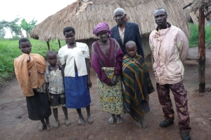 A family in Mahagi Territory