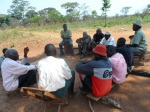 Community meeting in Jalasiga