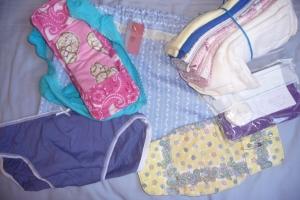 A Days for Girls sample kit.