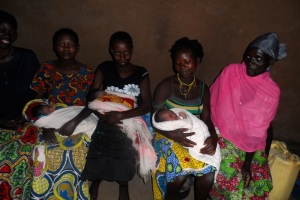 Newborns and mothers supported through the Birthing kits